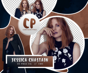 Png Pack 390 // Jessica Chastain by confidentpngs