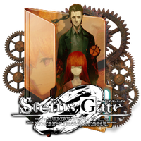 Steins Gate 0 Folder Icon by Kiddblaster