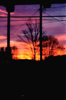 A Sunset in Virginia by snowcat