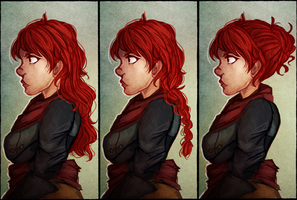 All this Inquisitor Hair by Uberlichous
