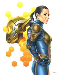 Hope van Dyne - The Wasp by smlshin