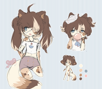 sailor calico cat adoptable (closed) by deadholic