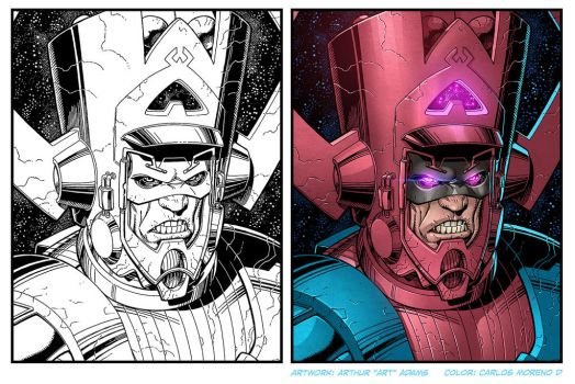 Galactus process by CarlosMorenoD-Art