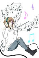 Aaron's Music by Yuna-Bishie-Lover