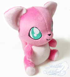 Sitting Kitty Plush (Pattern available) by FeatherStitched