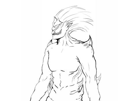Heir of Wrath - Demon sketch by azza-chaouch