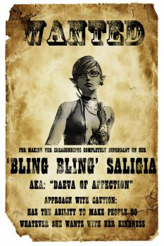 WANTED: 'Bling Bling' Sali v2 by Y-Yorle