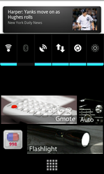 Custom Android Theme screen 2 by djNecro