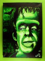 Herman Munster by Vicki-Death