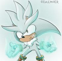 Silver the Hedgehog by TheEmster97
