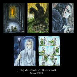 The Lord of the Rings - ATC by Merinid-DE