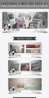 Facebook Timeline Pack #1 by frozencolor