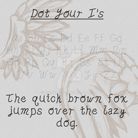 Dot Your I's by PinkWoods