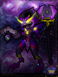 Dark Star Lord Veigar by Tiera-The-Yordle