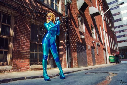 Samus by EnchantedCupcake