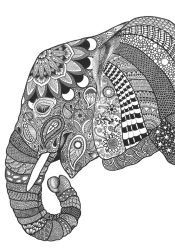 Elephant by poreen