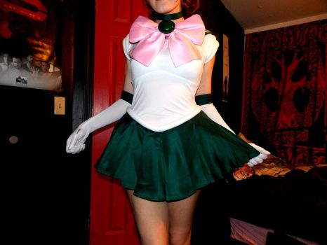 Sailor jupiter outfit by HeartRateRed