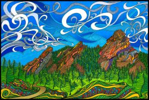 The Flatirons by PhilLewis