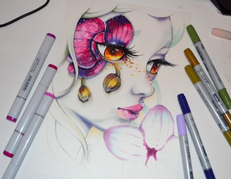 Frozen Orchid by Lighane
