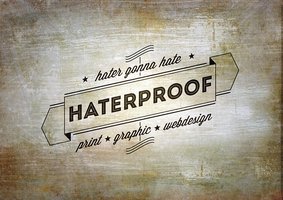 Hateproof Design Logo - Ribbon by APgraph
