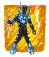 Blue Beetle by gravyboy