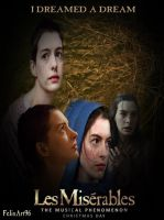 Les Miserables I Dreamed A Dream Poster by fillesu96