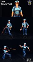 Jill Valentine in Joe form by Jin-Saotome
