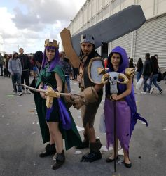 Clash of Clans Cosplays by Maspez