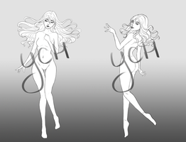 [Closed] YCH Auction: poses by Orilone