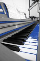Piano paint by snapboy