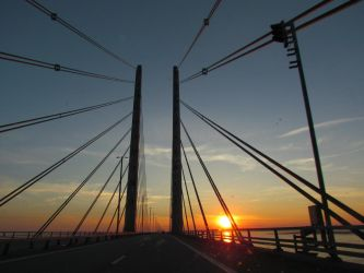 Oeresund bridge by bormolino