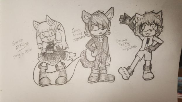 Sonic ocs by sonic0chick