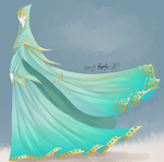 Blue Anceint One by EndlessShower
