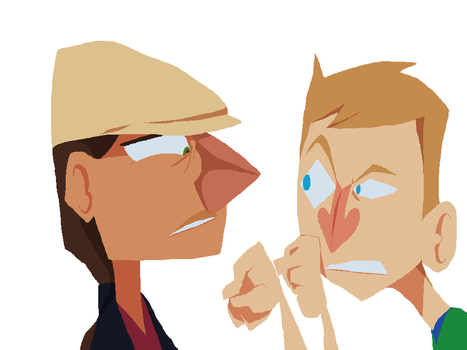 Rabbidluigi: Face-to-Face 'Work in Progress' by Toxodentrail