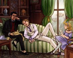 Steampunk Domesticity by lorainesammy