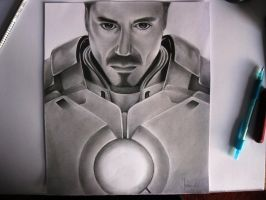 Tony Stark - Ironman by TrunksJovi