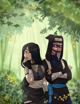 A walk through the forest by Eve-Of-Halloween