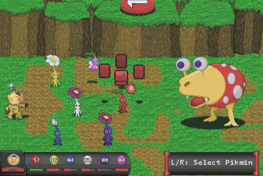 Pikmin Mockup by onean