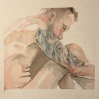 Man with tattoo by Henribe