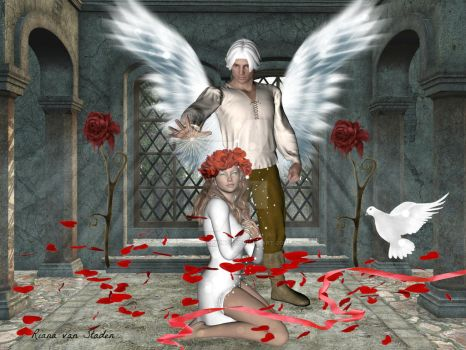 Archangel Michael's Love by My-AngelWings