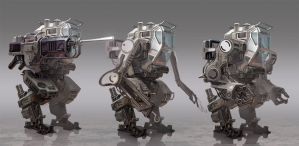 Jackhammer Mech Variations by Lothrean