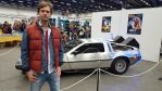 Me and the DeLorean Time Machine by EgonEagle
