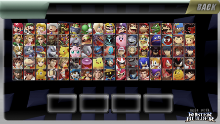 ROSTER BUILDER - Mix and Match Sample 7 by ConnorRentz