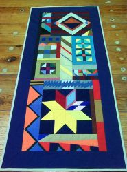 commissiond crazy quilt by Fabric-ant