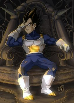 Vegeta: Failure by clefchan