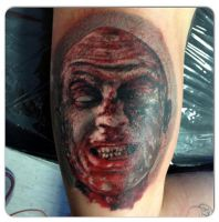 zombie tattoo by AtomiccircuS