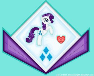 Rarity Shield by BlossomBright