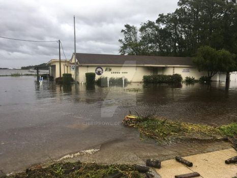 Elk's Lodge in Green Cove flooded by ChibiProwl