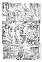 Jonah Hex pg 1 pencils by deankotz