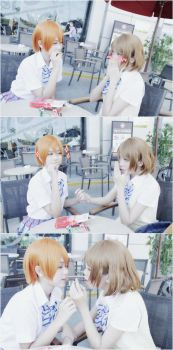 Love Live - Kayochin, eat it with me! by S-Ronnie